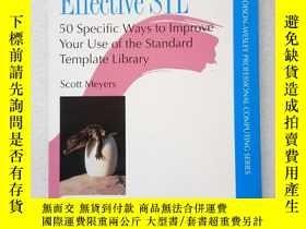 二手書博民逛書店Effective罕見Stl(英文原版)Y11016 Scott