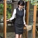 西裝 職業套裝女保險公司工作服女工裝正裝...