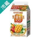 可果美野菜生活綜合蔬果汁黃色蔬果(375ml/瓶)【愛買冷藏】