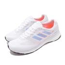 adidas 慢跑鞋 Adizero Adios 4 W 白 藍 女鞋 BOOST中底 低筒 運動鞋 【ACS】 EF1456