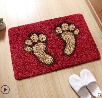 地毯地墊踩腳墊門墊地板墊子地毯家用門口進門浴室衛生間廁所吸水防滑