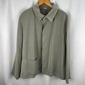 BRAND楓月 GIORGIO ARMANI 亞曼尼 淺灰綠色 襯衫外套 (尺碼不明) 防曬外套 薄外套