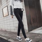 打底褲 黑色魔術打底褲女外穿薄款2019新款秋季高腰顯瘦緊身小腳鉛筆【星時代女王】