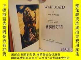 二手書博民逛書店【罕見】1930年出版《老婆女僕Waif Maid》林德沃德木刻