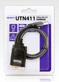 [ 中將3C ]   Uptech 登昌恆 UTN411 USB to RS-232訊號轉換器  UTN-411
