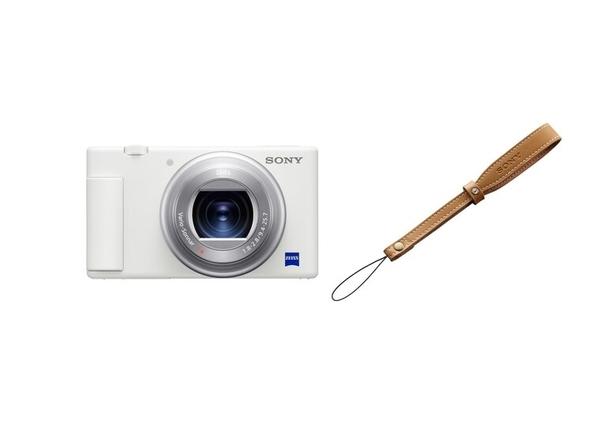 【震博】Sony ZV-1 側翻螢幕4K高畫質相機晨曦白(台灣索尼公司貨)