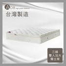 【多瓦娜】ADB-霍威爾F13三線獨立筒床墊/雙人加大6尺-150-41-C