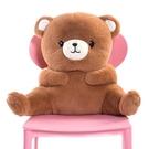 可愛椅子靠背座墊靠墊床頭沙發抱枕辦公室腰枕護腰靠枕