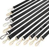 黑色包帶單肩包肩帶斜挎女士包包帶子包配件帶皮包背包帶子寬包帶