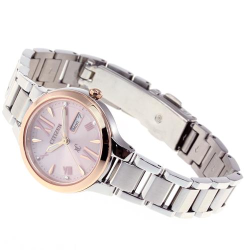 免運費 日本正規貨 公民 XC 太陽能電波手錶 女士手錶 EW 3224-53W