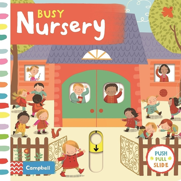 Busy Nursery 忙碌的幼兒園 硬頁操作拉拉書