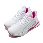 Puma 慢跑鞋 Softride Rift Tech Wns 白 粉紅 女鞋 輕量避震 運動鞋【ACS】 19374802