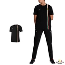 Puma Ferrari 男 黑色 短袖 法拉利 運動上衣 T桖 圓領T 運動 休閒 棉質上衣 59795502