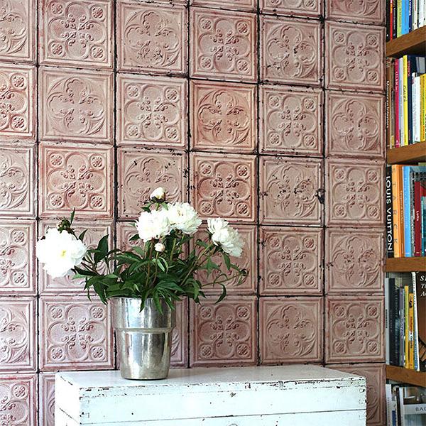 【進口牆紙】Brooklyn Tins by merci【訂貨單位48.7cm×10m/卷】荷蘭 仿真(fake) 磚紋 TIN-06