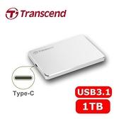 Transcend 創見 25C3S 1TB 2.5吋 TYPE-C 超薄鋁合金 外接式硬碟