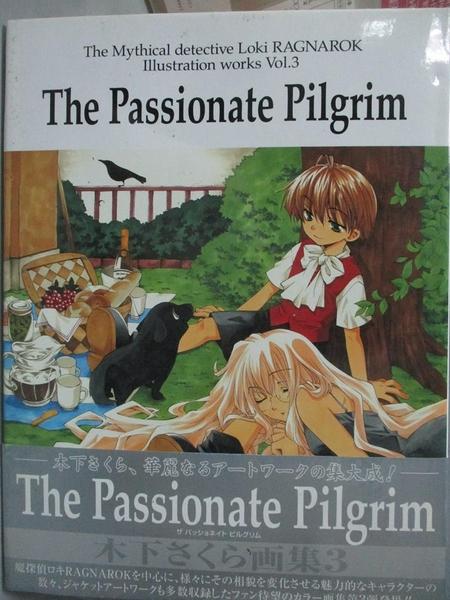 【書寶二手書T8/藝術_QIT】木下畫集3 The Passionate Pilgrim_日文
