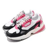 adidas 休閒鞋 Falcon W 白 黑 粉紅 女鞋 復古慢跑鞋 運動鞋 老爹鞋 【PUMP306】 EG9926