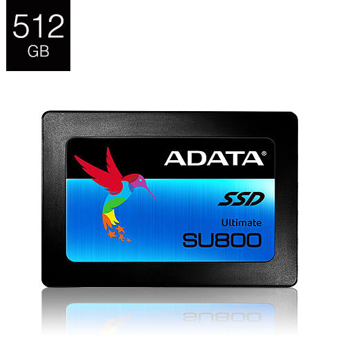 ADATA 威剛 Ultimate SU800 512G B 2.5吋 SSD 固態硬碟 (3年保固)