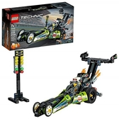 LEGO 樂高 Technic Dragster 42103 拉力賽車玩具 (225 件)