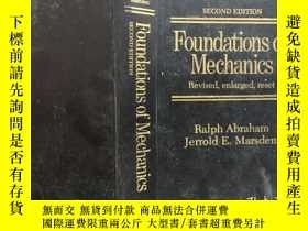 二手書博民逛書店Foundations罕見of Mechanics 力學基礎 第