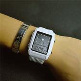 兒童錶正韓簡約電子錶防水運動學生女錶初中女生手錶兒童手錶男孩方形潮