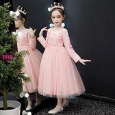YOYO 花童禮服 兒童洋裝 洋氣 公主裙 紅色 花童 晚禮服 演出服