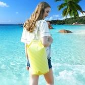 ~宜家199免運~5L戶外防水袋 防水包 游泳收納袋 旅行沙灘手機浮潛跟屁蟲背包 漂流桶包
