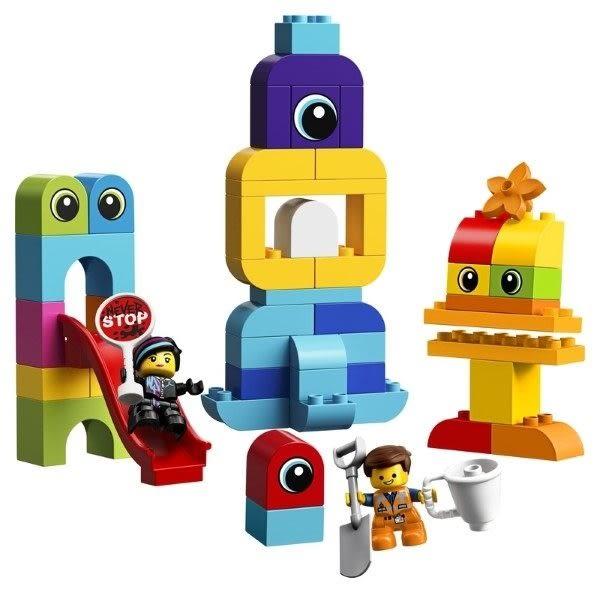 【LEGO樂高】來自得寶行星的訪客Emmet&Lucy  #10895