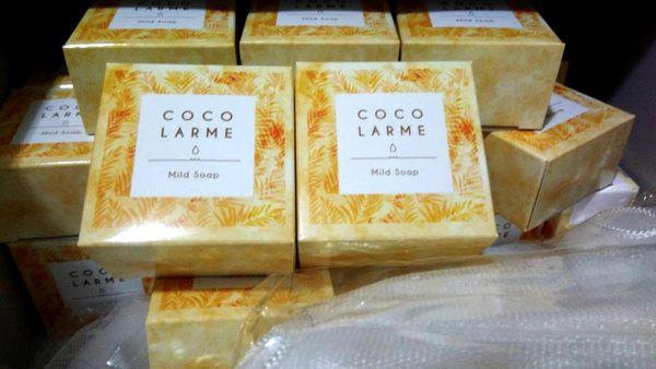 美康櫻森 VCO椰油精粹嫩白洗顏皂 85g (附起泡網)