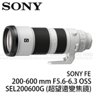 SONY FE 200-600 mm F...