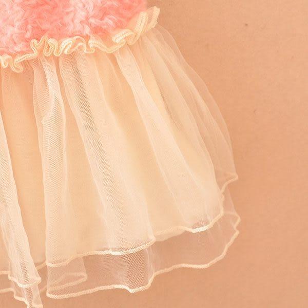 *甜蜜蜜親子童裝*韓版《毛毛小花朵》甜美長版 長袖上衣