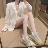 絲襪女性感蕾絲漁網襪子薄款防勾打底連褲襪【繁星小鎮】