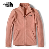The North Face 女 抓絨立領外套 粉 NF0A4U88RB6【GO WILD】