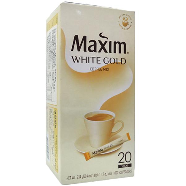 韓國 Maxim 白金咖啡(11.7gx20入)【小三美日】即溶咖啡