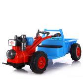 電動車  兒童手扶拖拉機電動車可坐雙人1-3歲3-6歲男女寶寶小孩抖音玩具車