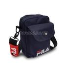 FILA 斜背包 Shoulder Bag 藍 白 紅 男女款 外出 側背 小包【ACS】 BMV7017NV
