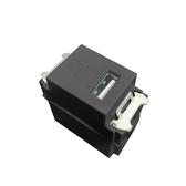 卡式USB插座(灰黑)