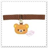 小花花日本精品Rilakkuma拉拉熊 便當帶 記事本帶 束帶 書籤帶 大臉造型 56946505