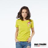 BIG TRAIN  口袋花漾小葵短袖-女-B85271
