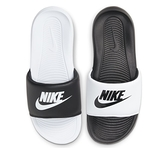 NIKE系列-VICTORI ONE SLIDE MIX 女款黑白色涼拖鞋-NO.DD0228100