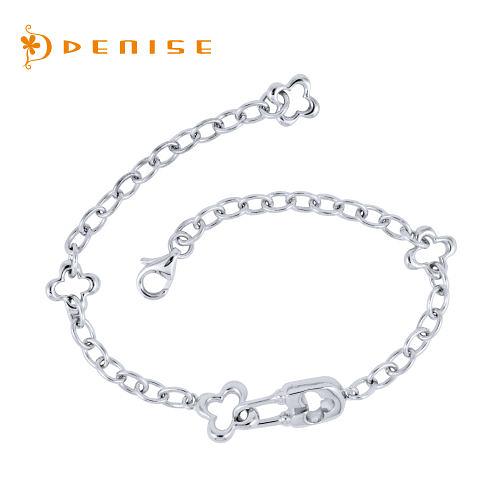 925純銀「心繫手鍊」銀飾情人禮物