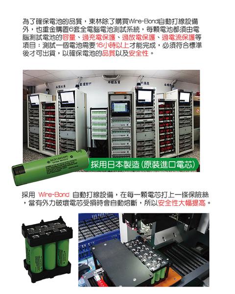 東林CK210型背負式動力割草機全配版17.4AH電池+充電器