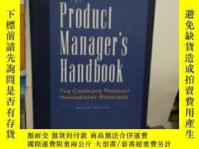 二手書博民逛書店the罕見product manager,s handbookY24040 Linda Gorchels NT