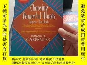 二手書博民逛書店Choosing罕見Powerful Words -- Eloquence that worksY369690