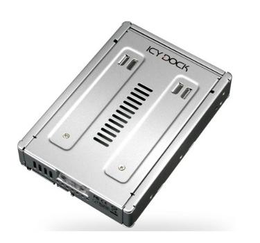 【超人百貨K】ICY DOCK MB982SP-1S 鋁合金2.5吋轉3.5吋硬碟轉接器 通風槽導熱迅速,並具備防震設
