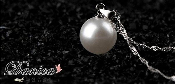 專櫃項鍊 現貨 專櫃時尚氣質甜美 萬年不敗 百搭 珍珠項鍊 鎖骨鍊 S2416 批發價 Danica 韓系飾品