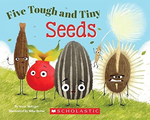 【麥克書店】FIVE TOUGH AND TINY SEEDS/ 平裝繪本《主題: STEM教學--科學 Science 》