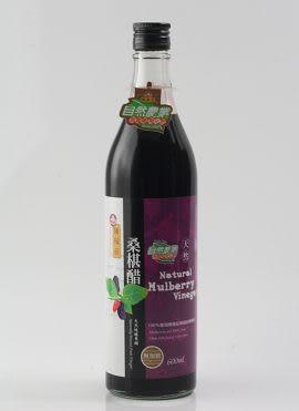 陳稼莊~桑椹醋600ml/罐 (無糖)