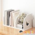 簡易桌上置物架簡約組裝桌面小書架書柜收納【淘嘟嘟】