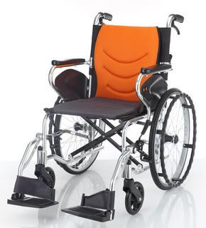 輪椅 均佳JW-250 鋁合金輪椅-輕巧型